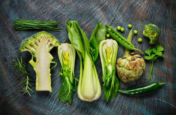 Grüner Gemüse-Mix
